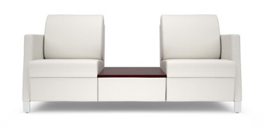 #L40TB25 Odeon Two Seater with Split Seat & Table