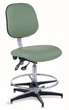 BioFit Laboratory Stool with glides