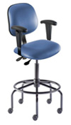 BioFit Heavy Duty Anesthesia Stool includes