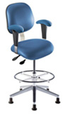 BioFit Anesthesia Stool- with articulating seat control