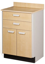 #8822 Clinton Stationary Bedside Cabinet