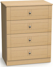 Superior 4 Drawer Dresser
