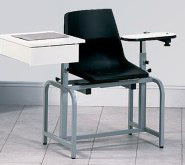 6029 Clinton Blood Draw Chair with drawer
