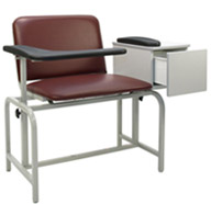 2574XL Winco Extra Wide Blood Drawing Chair