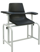 2571 Winco Blood Draw Chair with Flip Arm