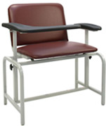 2575XL Winco Extra Large Padded Blood Drawing Chair
