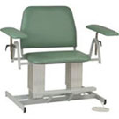 Electrically Adjustable Extra Wide Phlebotomy Chair