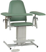 Power Adjustable Height Blood Drawing Chair