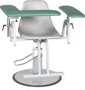 MC-12CPA Adjustable Blood Draw Chair