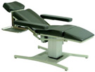 Electrically Adjustable Low Height Blood Draw Chair