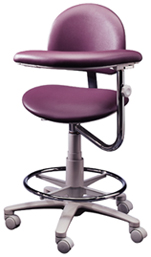 Brewer 3345BR/L Assistant's Stool includes