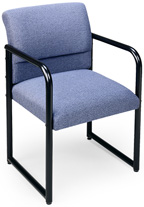 #S1201G3 Lesro Ergo Back Series Guest Chair