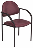 Brewer Upholstered Side Chair with Arms