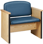 Clinton Bariatric Arm Chair, 800 lb. capacity