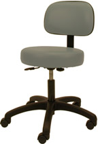 #4350 Winco Gas Lift Exam Room Stool