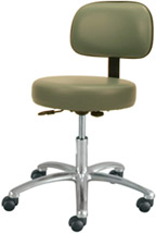#4450 Winco Deluxe Gas Lift Exam Room Stool