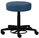 Clinton Foot-Activated Pneumatic Stool w/o backrest