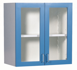 "24"" wall cabinet with Lexan Doors"