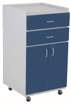 "20"" mobile supply cabinet"