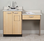 Beau Medical Exam Room Cabinets