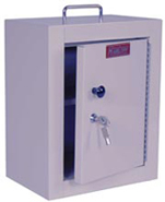 Harloff Single Door/ Single Lock Narcotic Cabinet
