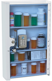 Lakeside Medicine Cabinet with Electronic Lock