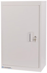 LNC-6D Lakeside Double Door/ Double Lock Narcotic Cabinet