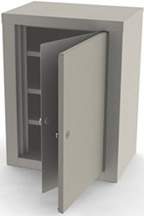 7780 UMF Double Door/ Double Lock Narcotic Cabinet
