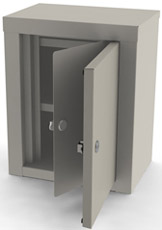 7781 UMF Double Door/ Double Lock Narcotic Cabinet