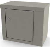 7782 UMF Single Door/ Single Lock Narcotic Cabinet