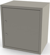 7785 UMF Single Door/ Double Lock Narcotic Cabinet