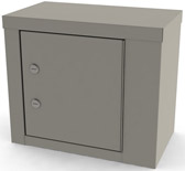 7787 UMF Single Door/ Double Lock Narcotic Cabinet
