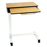 Acute Care Split Top - Pneumatic Overbed Table