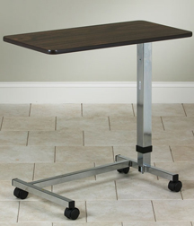 Economy Overbed Table with U Style Base