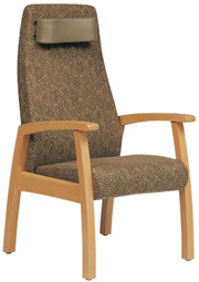 Huntsville Style High Back Chair