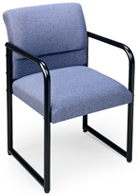 Lesro #S1201G3 Sheffield Series Ergo Back Guest Chair