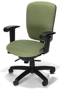 Rainier Medium Back Secretarial Chair