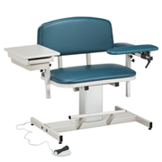 #6352 Clinton Electric Phlebotomy Chair