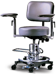 Hydraulic Surgeon's Stool with