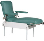 Treatment Lounge Chair with Trendelenburg