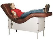 Treatment Lounge Chair with Fixed Recline