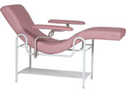 Treatment Lounge Chair with Steel Frame