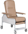 Reclining Treatment Chair with Flip Arms