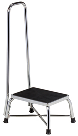 Bariatric Medical Step Stool w/ Handrail and a 600 lb. capacity