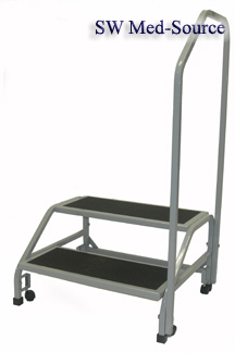 Two Step Bariatric Medical Step Stool