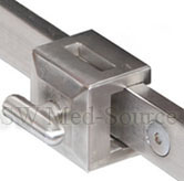 Stainless Steel Side Rail Clamp