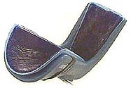Universal Boot Stirrup Gel Pad with Velcro