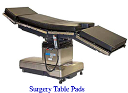 Surgery Table Pads OR Table Pads SW MedSource - Or table pads